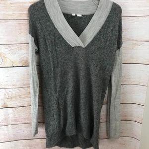 Anthropologie Moth Wool Alpaca Sweater V-Neck M